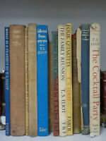 T S Eliot Early Reprints 12 Books ID838