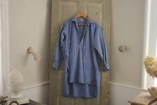 Work wear shirt men's workwear clothing plaid blue 1920's chore shirt clothing