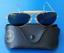 Authentic Original B&L Bausch & Lomb Ray Ban Aviator Shooter Outdoor Sunglasses