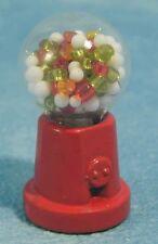 Petit gumball/chewing-gum machine, maison de poupées miniature. shop accessoire.