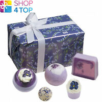 BLOOMING BLUEBELLS GIFT PACK BOMB COSMETICS FLORAL HANDMADE NATURAL NEW