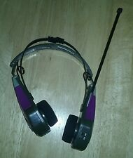 VINTAGE LENOXX SOUND HEADSET - MODEL 885M - AM/FM SPORTS RADIO