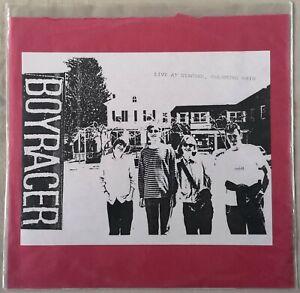 BOYRACER 'Live at Staches' Red Vinyl Lp 1997 US DIY Punk Ltd Ed of 300 BBPTC 084