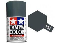 Tamiya TS-4 GERMAN GREY Spray Paint Can 3 oz 100ml #85004 Mid-America Raceway