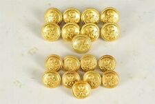 New listing Lot of 18 ~ Royal Southern Yacht Club Blazer/Jacket/Coat Buttons 15.5/17.5mm