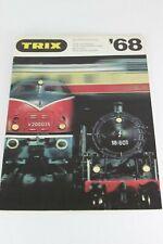 Trix Gesamtkatalog 1968 Catalogue Catalog Katalog Catalogo