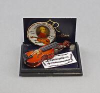 """9911054 Reutter Puppenstuben-Miniatur """"My Melody"""" Geige"""