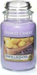 Yankee Candle  Lemon Lavender Large Classic Jar - 623g