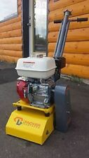 Packer Brothers Honda GX160 5.5HP Gas Mini Planer Concrete Scarifier