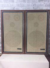 Vintage Criterion 100B 3-Way Floor Speakers Pair TESTED