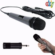 10 Ft. Cord Professional Dynamic Microphone, Unidirectional Handheld Mic