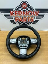 BMW MINI COOPER R55 R56 R57 R58 3 SPOKE STEERING WHEEL 6782595 BLACK AND SILVER