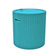 Keter Icebox Kühlbox COOL STOOL türkis