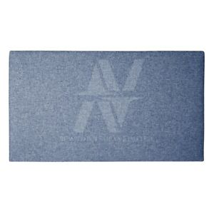 "24"" Luxury Feel Handmade Plain Matiz Fabric Upholstery Headboard 3ft Double King"