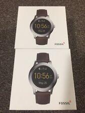 Display Fossil Q Gen 2 Q Founder Dark Brown Leather Touchscr Smart Watch FTW2112