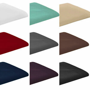 New Flat Sheet Bed Sheets 100% Poly Cotton Single Double King Super King 180 TC
