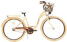 "28"" City Bike Town Hybrid Dutch Vintage Cycle Kozbike With Basket"