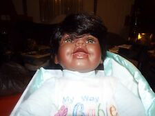 DOLL (AFRICAN AMERICAN) MY WAY BABIES