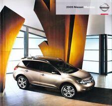 2009 09 Nissan Murano original sales brochure Mint