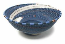 Zulu Telephone Wire Baskets from South Africa - Large Bowl 126