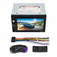 2 Din 6.2in Universal Autoradio MP5 DVD-Player Touchscreen Spieler Rückansicht