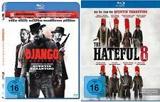 2 Blu-rays * TARANTINO - WESTERN SET (DJANGO UNCHAINED + HATEFUL 8) # NEU OVP <+