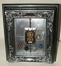 Dale Mathis MECHANICAL PLAYING CARD DECK w/ DISPLAY FRAME & Amber Rix DICE