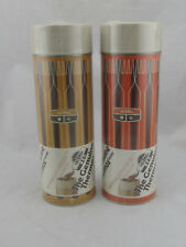 New VINTAGE Thermos Brand Thermos Lot of 2 Striped Retro 1971 Thermoses SEALED