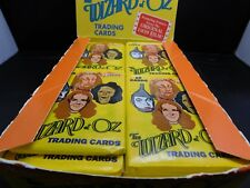THE WIZARD OF OZ - TRADING CARDS - NEW - PACIFIC - 1990 - 3 PACK LOT