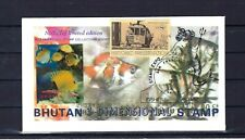 Bhutan 1969, Stamp EXPO SAN FRANCISCO 1972,First Day Cover, 3d, unusual