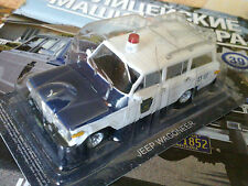 1:43 Jeep Wagoneer Police cars the world + Magazine #39