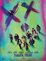 Suicide Squad Poster Cinema Folded 160x120 Movie to Be Sent Dc Comics Jared Leto