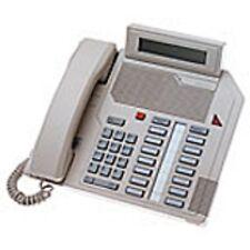 Five Refurbished Grey Nortel M2616D Phones, Nortthern Telecom Meridian Options