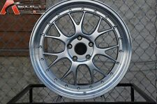 Varrstoen Es5 19X9.5 5X120 Et20 Hyper Silver W/Machine Lip (1 Wheel Only)