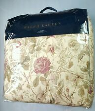 RALPH LAUREN ARCHIVAL COLLECTION WILTON ROSE FLORAL MULTI COLOR KING COMFORTER