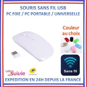Souris Optique Sans Fil USB PC Ordinateur Portable pour ASUS MSI ACER LENOVO HP
