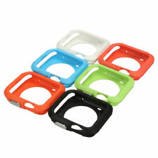 Case Screen Protector For Apple Watch 42mm Rugged Sport iWatch + Free Temp Glass
