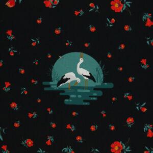 Calma by Bienvenido Colorido, schwarz, Panel, Sweat ungerauht (French Terry), 10
