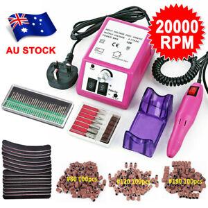 20000RPM Electric Nail Drill Machine Acrylic Art Manicure Pedicure Hand Toe Tool