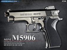 [ACADEMY] Mini M5906 17206 Airsoft Pistol BB Shot Gun 6mm Hand Grips Toy Kids