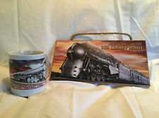 NEW YORK CENTRAL RAILROAD Gift Set - Wooden Sign & Coffee Mug / Father's Day