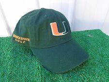 Bridgestone Golf University of Miami Hurricanes NCAA golf Hat Cap Adjustable NEW