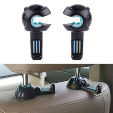 2pcs Car Headrest Car Seat Double Hook Holder Hanger Bag Organizer Vehicle Coat