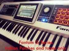 Roland Fantom G6/G7/G8 G Series Indian Ethnic Punjabi Desi Tones & Patches