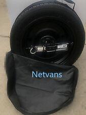 """17/"""" pour FIAT 500X avec cric cléf et sac 64x14cm kit roue de secours galette"""