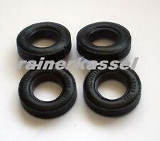 Scalextric Super 124 Tires, Repro Reifen für Jaguar Typ E und Alfa Romeo TZ1
