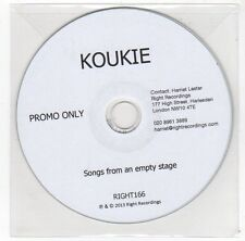 (FC25) Koukie, Songs From An Empty Stage - 2013 DJ CD