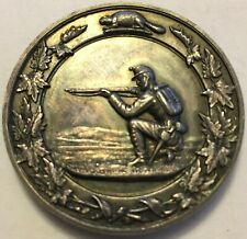 CANADA Ontario Rifle Association 39mm Silver Medal Leroux 1601 Inv 2021