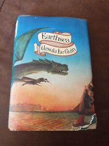 Earthsea - Ursula Le Guin - Hardback - 1st Edition 1st Print - Rare Vintage