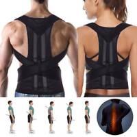 Correcteur posture réglable orthèse dos épaule ceinture soutien magnétique DE